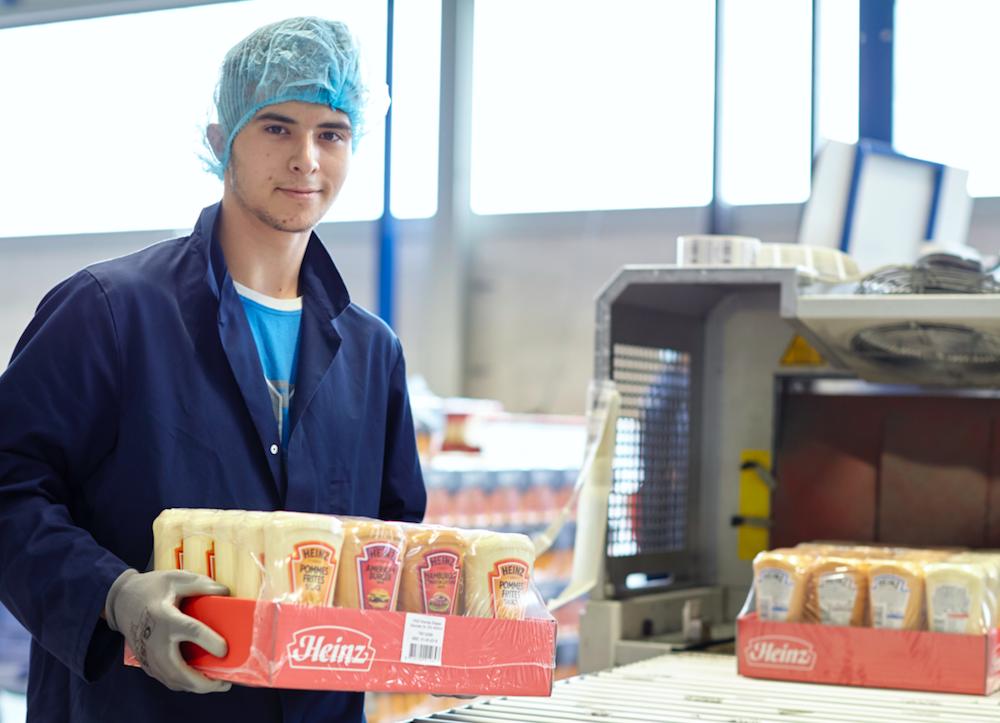 Co packer met Heinz producten
